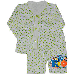 """Детская пижама """"Горошек"""" , трикотажная , для детей возрастом от 3-4 лет"""