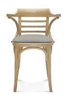 Деревянный стул с возможностью tapicerowanego сиденья B-0542