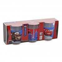 Набор стаканов низких Luminarc Disney Cars2 3 штуки 160мл стекло (1493H)
