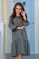 Платье из плотного трикотажа 4045