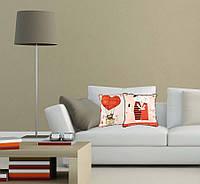"""Чехол для декоративной подушки """"Love"""""""