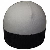 Модная вязаная мужская шапка
