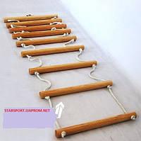 Лестница детская веревочная