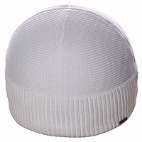Белая шапка для мужчин