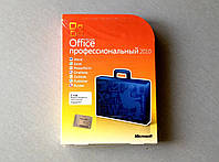 Офисный пакет Microsoft Office 2010 Pro 32-bit/x64 Russian Not to Russia DVD (269-14689) вскрытый