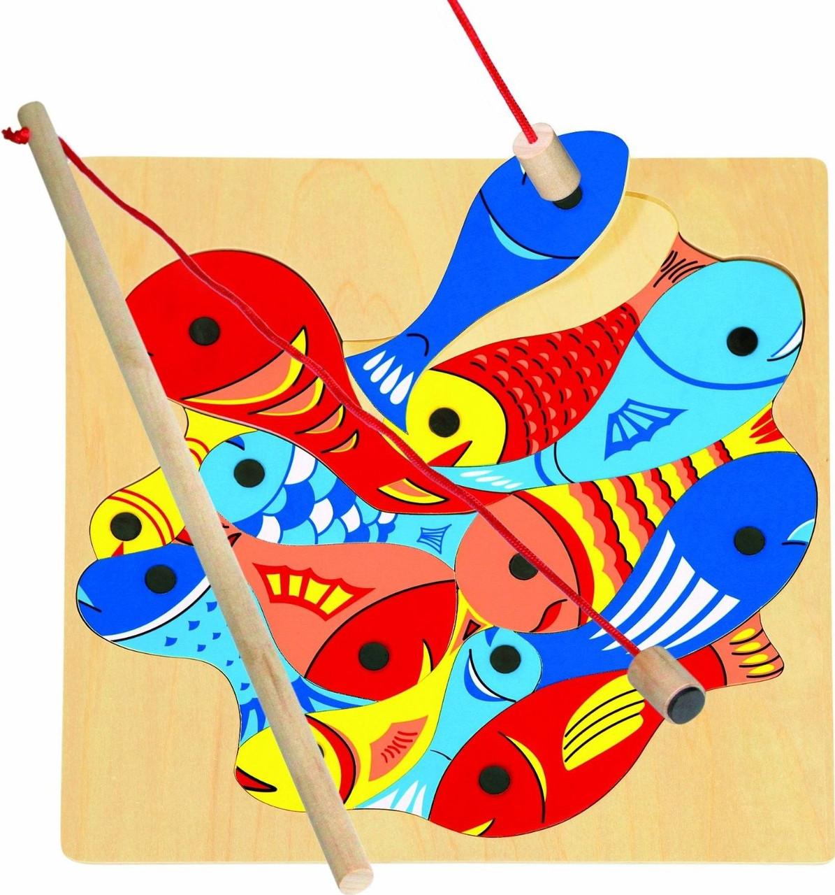 Магнитная игра - Рыбалка (2 удочки) TM Bino (82737)