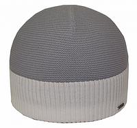 Вязаная теплая шапка для мужчин