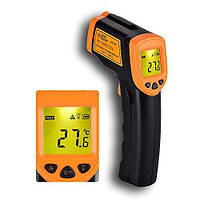Инфракрасный термометр, градусник AR 360 пирометр с лазерным визиром, фото 1