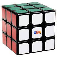 Умный кубик 3х3 чёрный (Smart cube) со срезанием углов