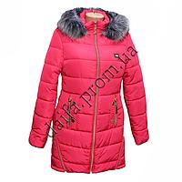 Женская зимняя куртка 9530-7 на синтепоне оптом в Одессе.