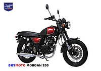Мотоцикл MORGAN 200 (Cafe Racer) (Двигатель, лицензия SUZUKI)