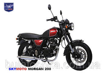 Мотоцикл MORGAN 200 (Cafe Racer) (Двигатель, лицензия SUZUKI)
