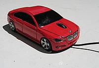 Мышка компьютерная проводная BMW E90 красная