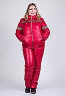 Женский зимний костюм на синтепоне и овчине., фото 1
