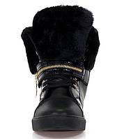Зимние ботинки из эко кожи, фото 1