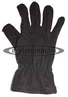 Перчатки флисовые / черные