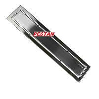 Душевой трап линейный с декоративной накладкой Pestan Confluo Premium Line 85 см