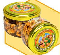 Медовий десерт з волоським горіхом 0,17 л