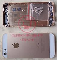 Apple iPhone 5s корпус задня кришка панель золотиста