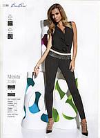 Леггинсы женские модельные комбинированные Bas Bleu MIRANDA  200 DEN