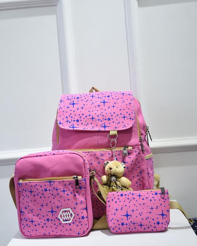 Стильный рюкзак в звездах