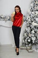 Ультра модные топы  ткань: атлас Отлично сидит !!!цвет красный, черный ,золото фото реал нвин №185180