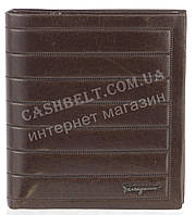 Кошелек мужской кожаный SALVATORE FERRAGAMO art. F7-7113М коричневый, гладкая кожа