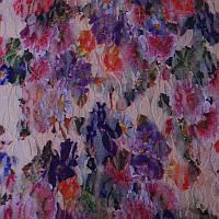 Ткань Гипюр Цветы 3