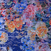 Ткань Гипюр Цветок 5