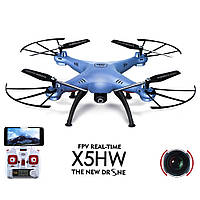 "Квадрокоптер с WiFi камерой и режимом зависания ""Syma X5HW"""