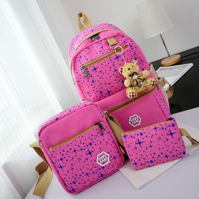 Модный рюкзак для школы 3 в 1