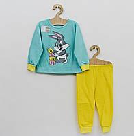 Детская утеплённая пижама на байке