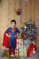 Детский карнавальный костюм Супер-мен - прокат, Киев, Троещина