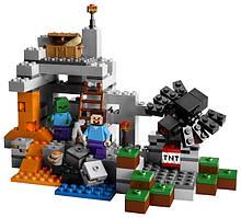 Конструктор Lego Minecraft Пещера