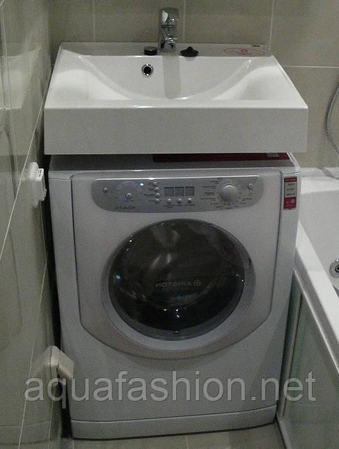 Купить умывальник на стиральную машину Fancy Marble Lily