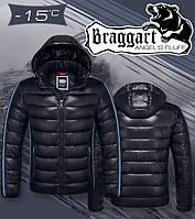 Куртка Braggart Angel's fluff - 1185A черная