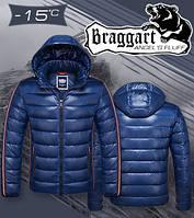 Куртка Braggart Angel's fluff - 1185C синяя