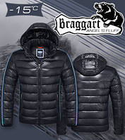 Куртка Braggart Angel's fluff - 1185E темно-графитовая