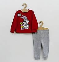 """Тёплая пижама для девочки """"Зайка"""""""