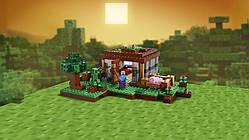 Lego Minecraft Первая ночь