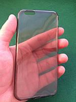 Силиконовый чехол iphone 6/6s прозрачный темный