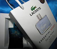 Lacoste Essential Sport Pour Homme (Лакост Эсэншал Спорт Пур Хом) в подарочной упаковке 50 мл.