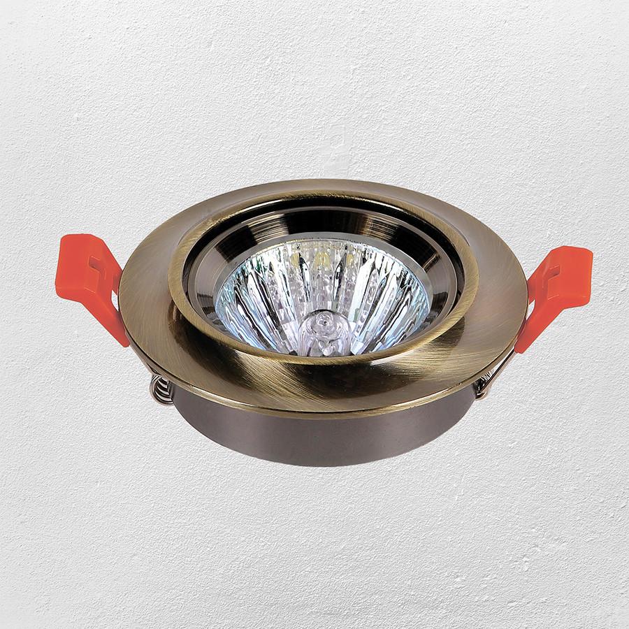 Точечный врезной светильник (модель 47-1234 АВ)