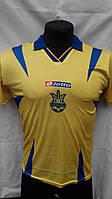 Футбольная форма Украина Voronin детская подростковая  желто-синяя