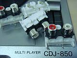 Разьем DKB1102  AKB7181 RCA GOLD (тюльпаны) для cdj900, 2000nexus, фото 6
