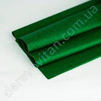 Бумага тишью зеленая/изумруд, 100 листов, 50 на 75 см