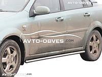 Защита бокового порога Chevrolet Lacetti, Ø 42 \ 51 \ 60 мм