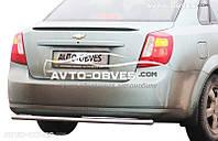 Защита заднего бампера для Chevrolet Lacetti седан Ø42mm (п.к. AK)