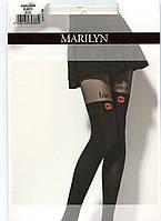 Роскошные колготки с имитацией чулка MARILYN ZAZU KISS 60 DEN