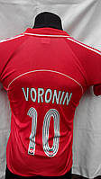 Футбольная форма Ливерпуль Voronin детская подростковая красная